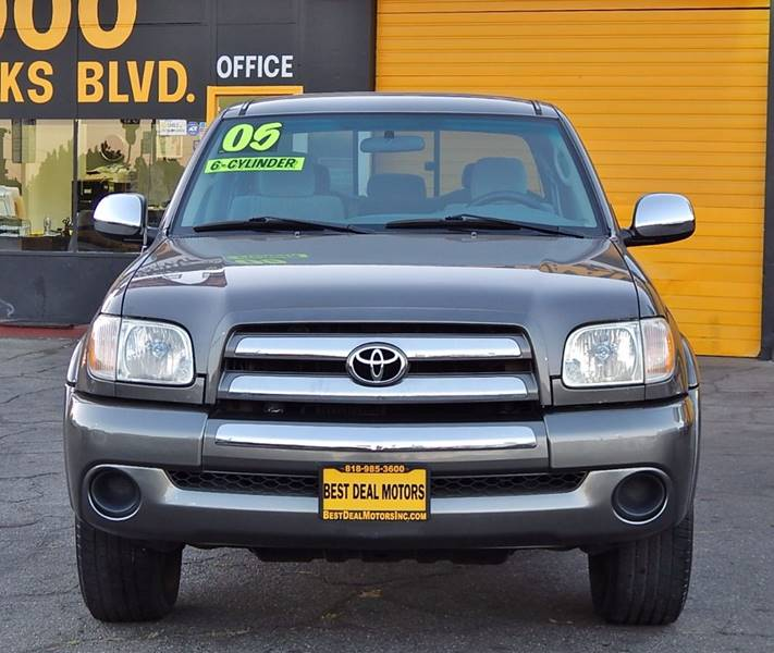 2005 Toyota Tundra for sale at BEST DEAL MOTORS INC. CARS AND TRUCKS FOR SALE in North Hollywood , Los Angeles CA