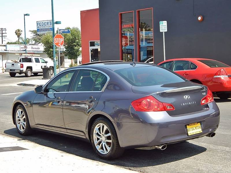 2009 Infiniti G37 Sedan for sale at BEST DEAL MOTORS INC. CARS AND TRUCKS FOR SALE in North Hollywood , Los Angeles CA