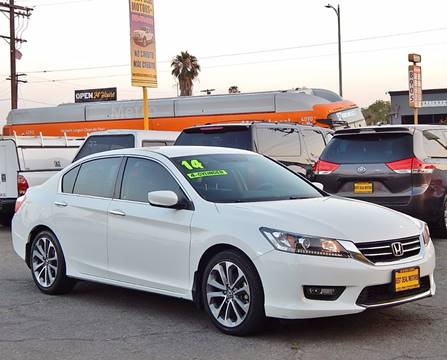 2014 Honda Accord for sale at BEST DEAL MOTORS INC. CARS AND TRUCKS FOR SALE in Sun Valley, CA
