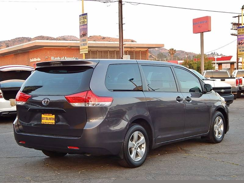 2014 Toyota Sienna for sale at BEST DEAL MOTORS INC. CARS AND TRUCKS FOR SALE in North Hollywood , Los Angeles CA
