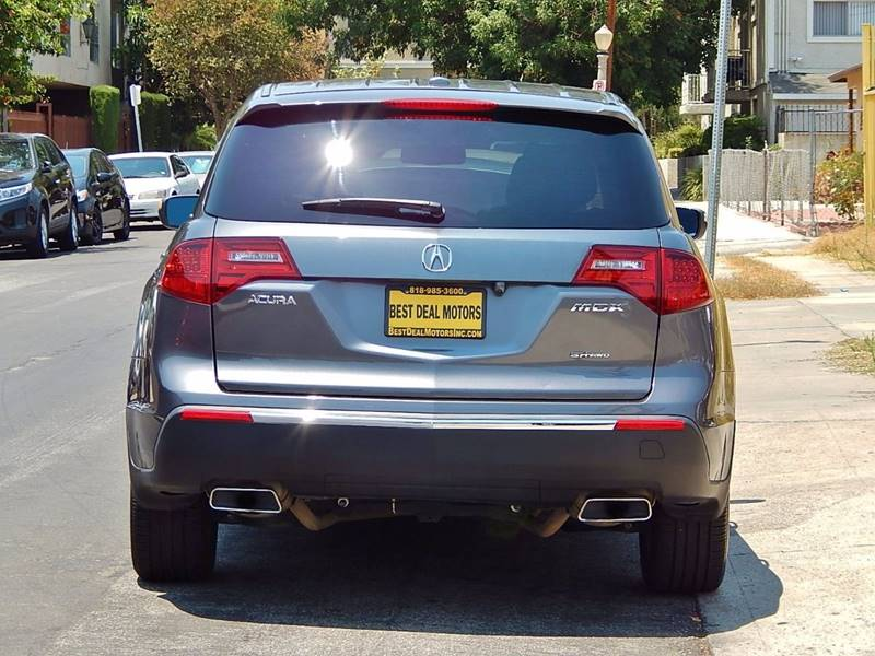 2011 Acura MDX for sale at BEST DEAL MOTORS INC. CARS AND TRUCKS FOR SALE in North Hollywood , Los Angeles CA