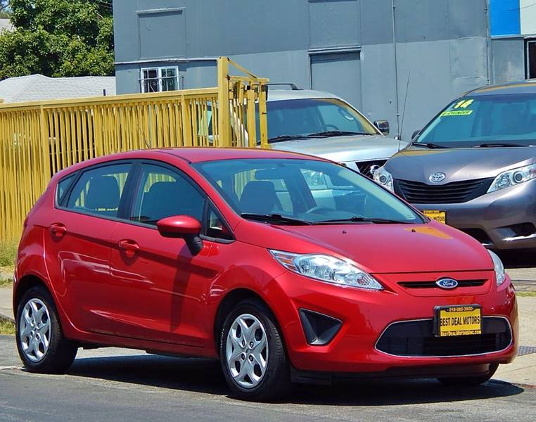 2012 Ford Fiesta for sale at BEST DEAL MOTORS INC. CARS AND TRUCKS FOR SALE in North Hollywood , Los Angeles CA