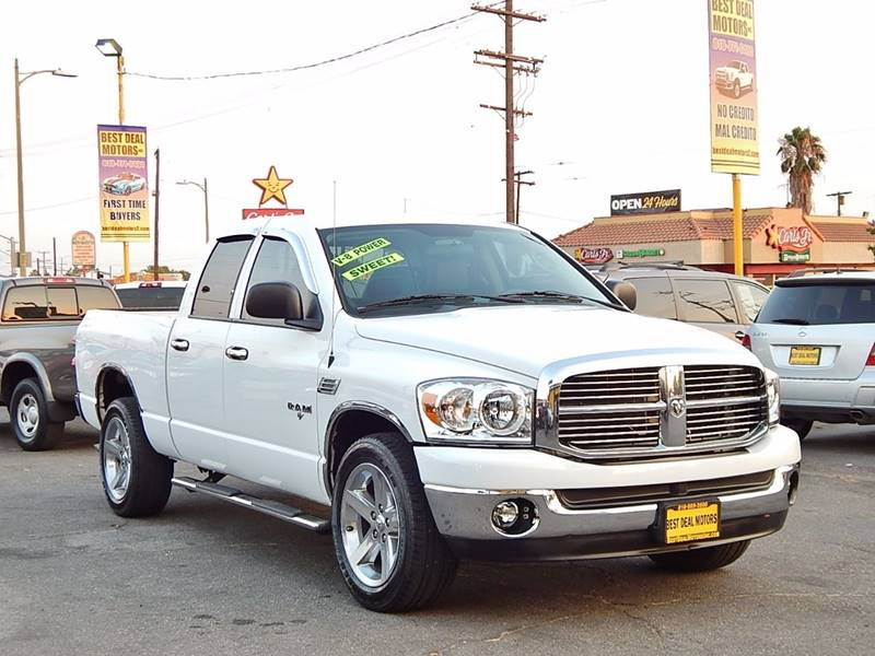 2008 Dodge Ram Pickup 1500 for sale at BEST DEAL MOTORS INC. CARS AND TRUCKS FOR SALE in North Hollywood , Los Angeles CA