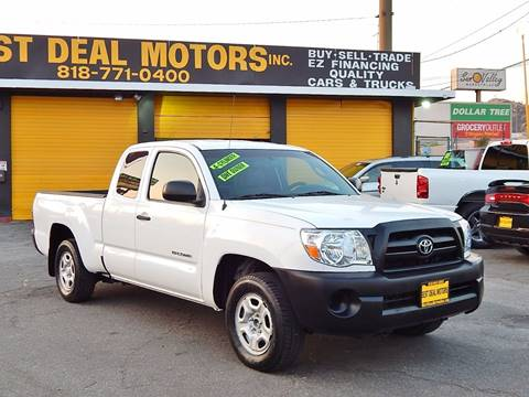 2008 Toyota Tacoma for sale at BEST DEAL MOTORS INC. CARS AND TRUCKS FOR SALE in North Hollywood , Los Angeles CA