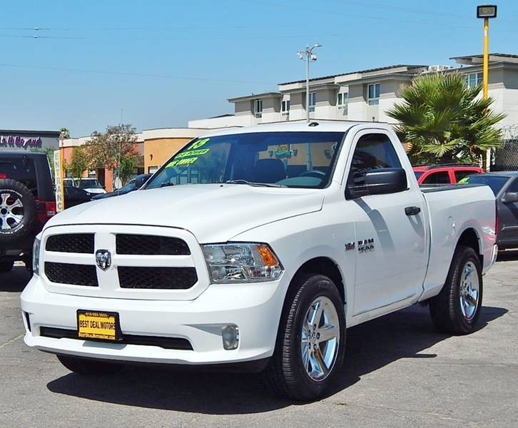 2013 RAM Ram Pickup 1500 for sale at BEST DEAL MOTORS INC. CARS AND TRUCKS FOR SALE in Sun Valley, CA