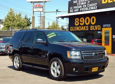 2010 Chevrolet Tahoe for sale at BEST DEAL MOTORS INC. CARS AND TRUCKS FOR SALE in North Hollywood , Los Angeles CA