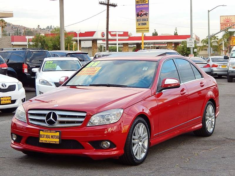 2008 Mercedes-Benz C-Class for sale at BEST DEAL MOTORS INC. CARS AND TRUCKS FOR SALE in Sun Valley, CA