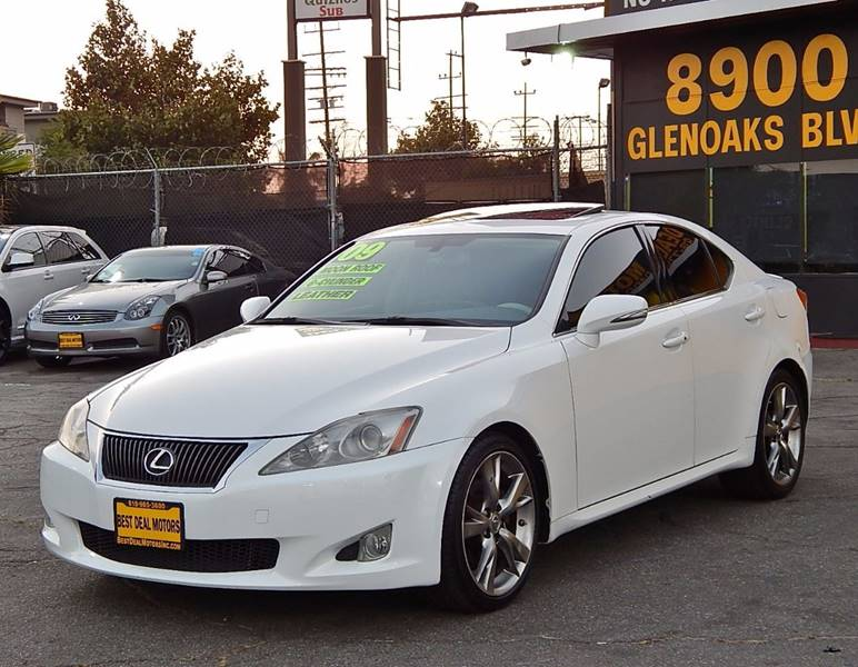 2009 Lexus IS 250 for sale at BEST DEAL MOTORS INC. CARS AND TRUCKS FOR SALE in Sun Valley, CA