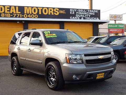 2007 Chevrolet Tahoe for sale at BEST DEAL MOTORS INC. CARS AND TRUCKS FOR SALE in Sun Valley, CA