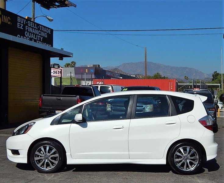 2013 Honda Fit for sale at BEST DEAL MOTORS INC. CARS AND TRUCKS FOR SALE in Sun Valley, CA