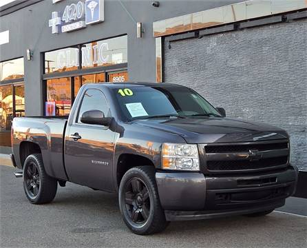 2010 Chevrolet Silverado 1500 for sale at BEST DEAL MOTORS INC. CARS AND TRUCKS FOR SALE in Sun Valley, CA