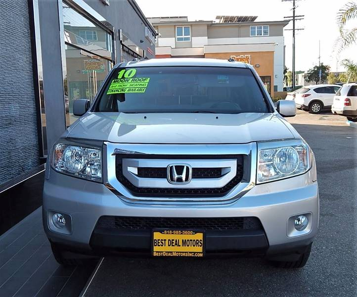 2010 Honda Pilot for sale at BEST DEAL MOTORS INC. CARS AND TRUCKS FOR SALE in Sun Valley, CA