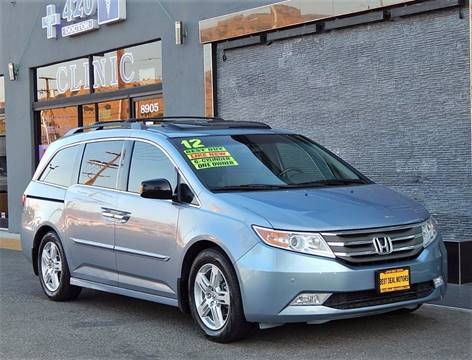 2012 Honda Odyssey for sale at BEST DEAL MOTORS INC. CARS AND TRUCKS FOR SALE in Sun Valley, CA