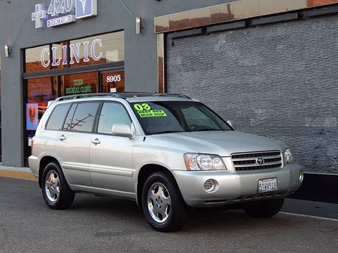2003 Toyota Highlander for sale at BEST DEAL MOTORS INC. CARS AND TRUCKS FOR SALE in Sun Valley, CA