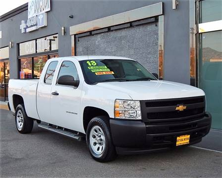 2013 Chevrolet Silverado 1500 for sale at BEST DEAL MOTORS INC. CARS AND TRUCKS FOR SALE in Sun Valley, CA