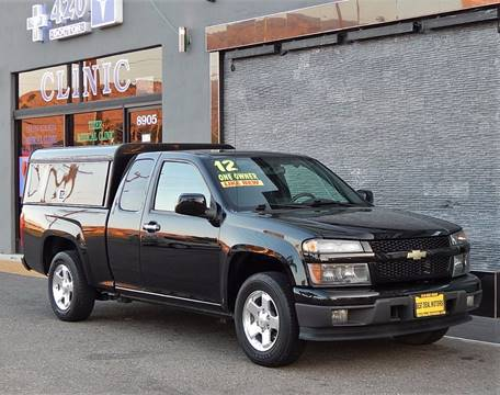 2012 Chevrolet Colorado for sale at BEST DEAL MOTORS INC. CARS AND TRUCKS FOR SALE in Sun Valley, CA