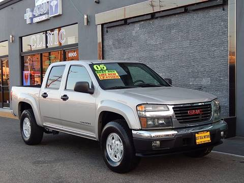 2005 GMC Canyon for sale at BEST DEAL MOTORS INC. CARS AND TRUCKS FOR SALE in Sun Valley, CA