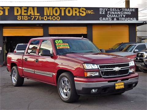 2006 Chevrolet Silverado 1500 for sale at BEST DEAL MOTORS INC. CARS AND TRUCKS FOR SALE in Sun Valley, CA