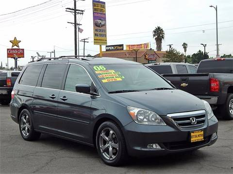 2006 Honda Odyssey for sale at BEST DEAL MOTORS INC. CARS AND TRUCKS FOR SALE in Sun Valley, CA