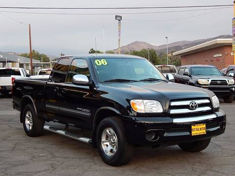 2006 Toyota Tundra for sale at BEST DEAL MOTORS INC. CARS AND TRUCKS FOR SALE in Sun Valley, CA