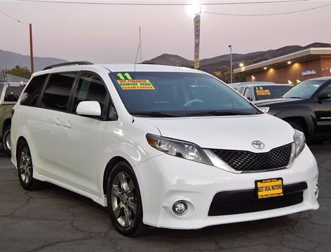 2011 Toyota Sienna for sale at BEST DEAL MOTORS INC. CARS AND TRUCKS FOR SALE in Sun Valley, CA