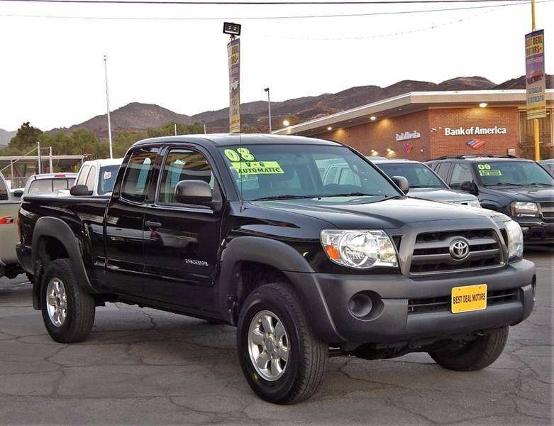 2008 Toyota Tacoma for sale at BEST DEAL MOTORS INC. CARS AND TRUCKS FOR SALE in Sun Valley, CA