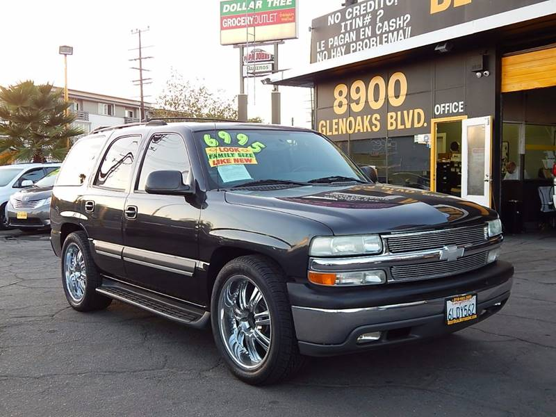 2004 Chevrolet Tahoe for sale at BEST DEAL MOTORS INC. CARS AND TRUCKS FOR SALE in Sun Valley, CA
