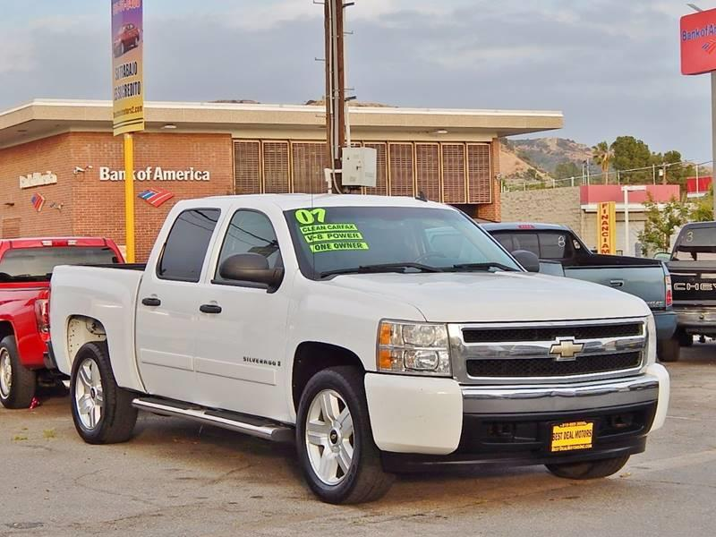 2007 Chevrolet Silverado 1500 for sale at BEST DEAL MOTORS INC. CARS AND TRUCKS FOR SALE in Sun Valley, CA