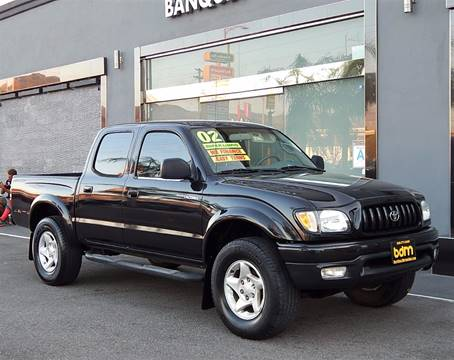 2002 Toyota Tacoma for sale at BEST DEAL MOTORS INC. CARS AND TRUCKS FOR SALE in Sun Valley, CA