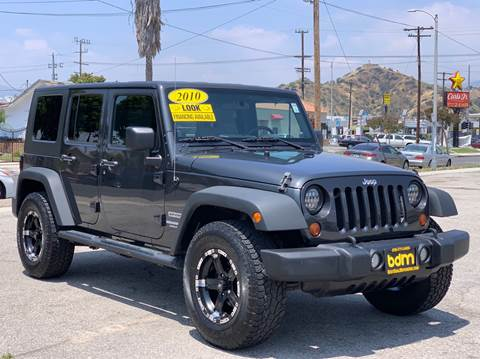 2010 Jeep Wrangler Unlimited for sale in Sun Valley, CA