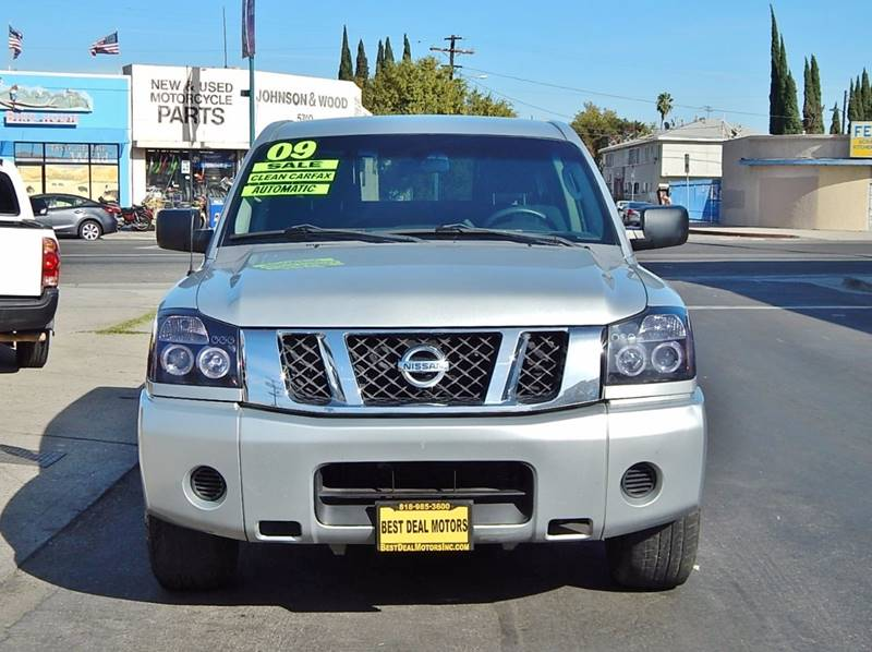 2009 Nissan Titan for sale at BEST DEAL MOTORS INC. CARS AND TRUCKS FOR SALE in North Hollywood , Los Angeles CA