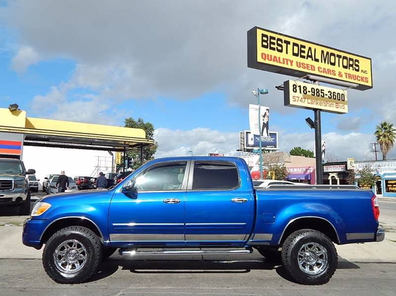2006 Toyota Tundra for sale at BEST DEAL MOTORS INC. CARS AND TRUCKS FOR SALE in North Hollywood , Los Angeles CA