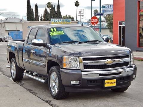 2011 Chevrolet Silverado 1500 for sale in North Hollywood, CA