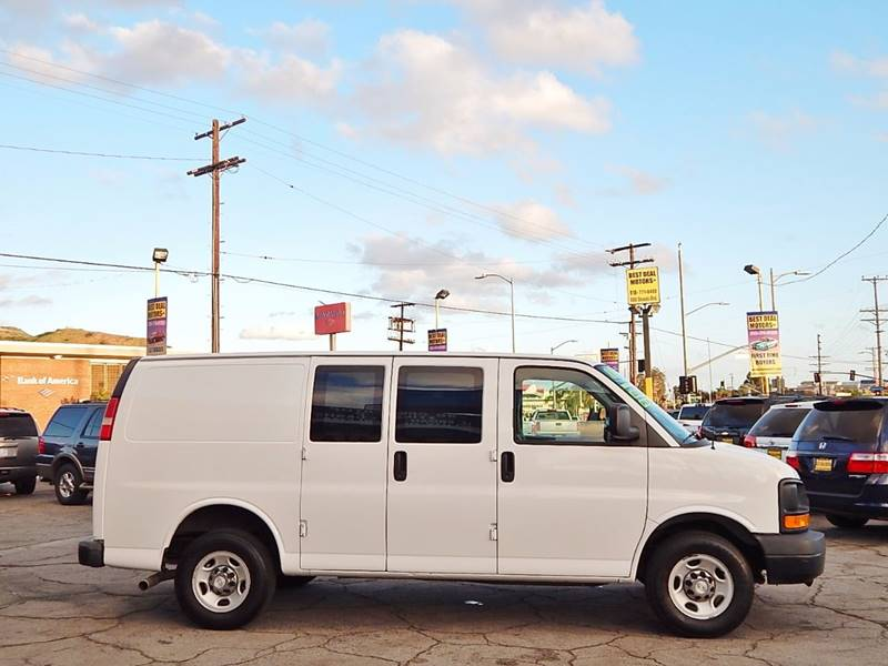 2008 Chevrolet Express Cargo for sale at BEST DEAL MOTORS INC. CARS AND TRUCKS FOR SALE in North Hollywood , Los Angeles CA