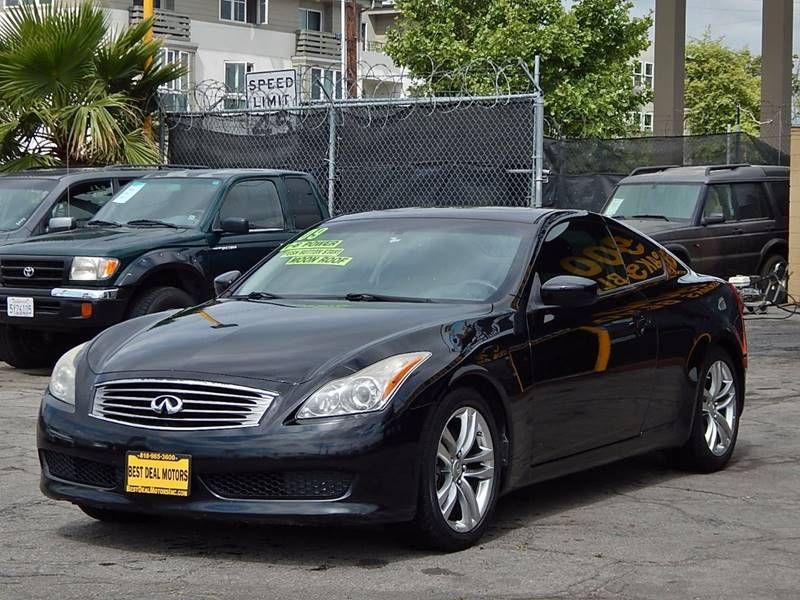 2009 Infiniti G37 Coupe for sale at BEST DEAL MOTORS INC. CARS AND TRUCKS FOR SALE in Sun Valley, CA
