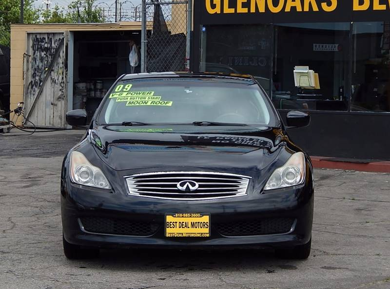 2009 Infiniti G37 Coupe for sale at BEST DEAL MOTORS INC. CARS AND TRUCKS FOR SALE in North Hollywood , Los Angeles CA