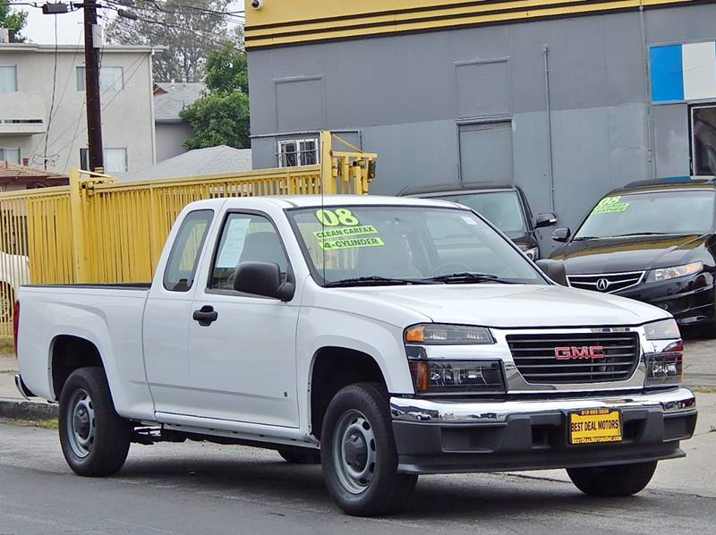 2008 GMC Canyon for sale at BEST DEAL MOTORS INC. CARS AND TRUCKS FOR SALE in North Hollywood , Los Angeles CA