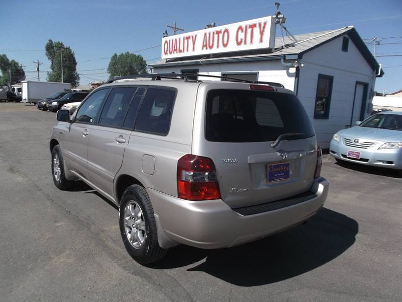 2005 Toyota Highlander for sale at Quality Auto City Inc. in Laramie WY