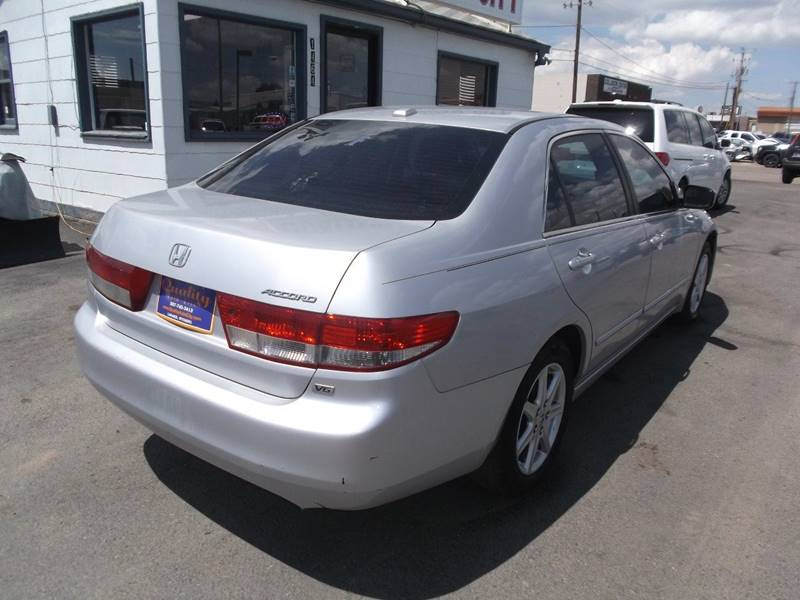 2004 Honda Accord for sale at Quality Auto City Inc. in Laramie WY
