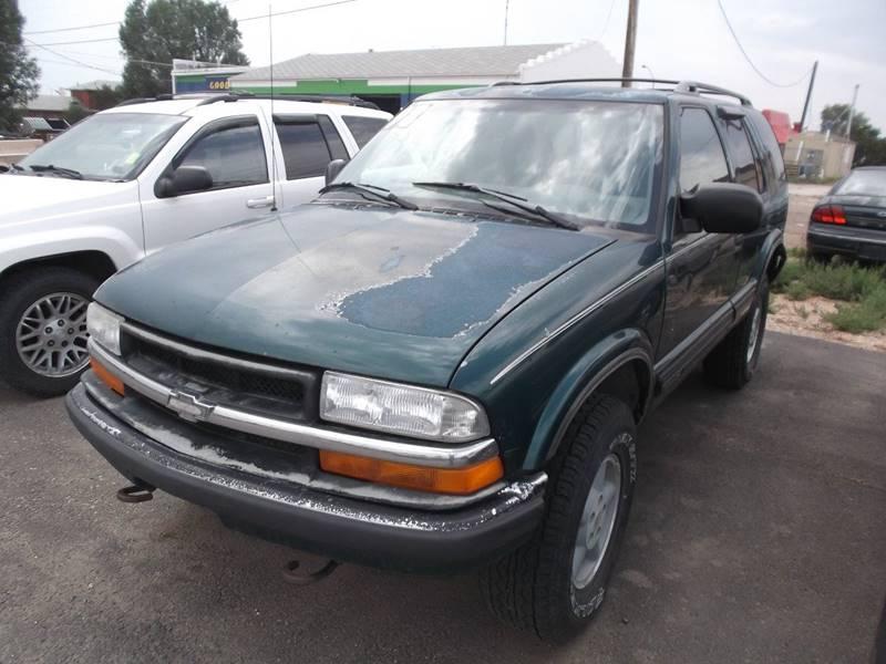 1998 Chevrolet Blazer for sale at Quality Auto City Inc. in Laramie WY