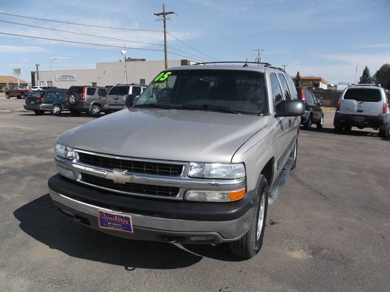 2005 Chevrolet Suburban for sale at Quality Auto City Inc. in Laramie WY