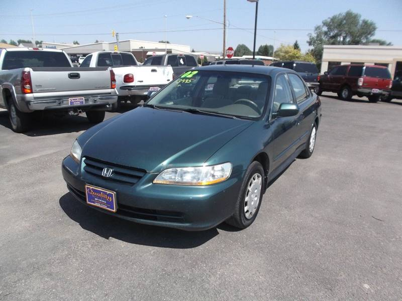 2002 Honda Accord for sale at Quality Auto City Inc. in Laramie WY