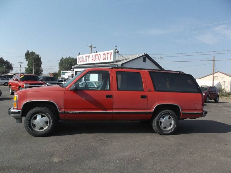 1992 Chevrolet Suburban for sale at Quality Auto City Inc. in Laramie WY