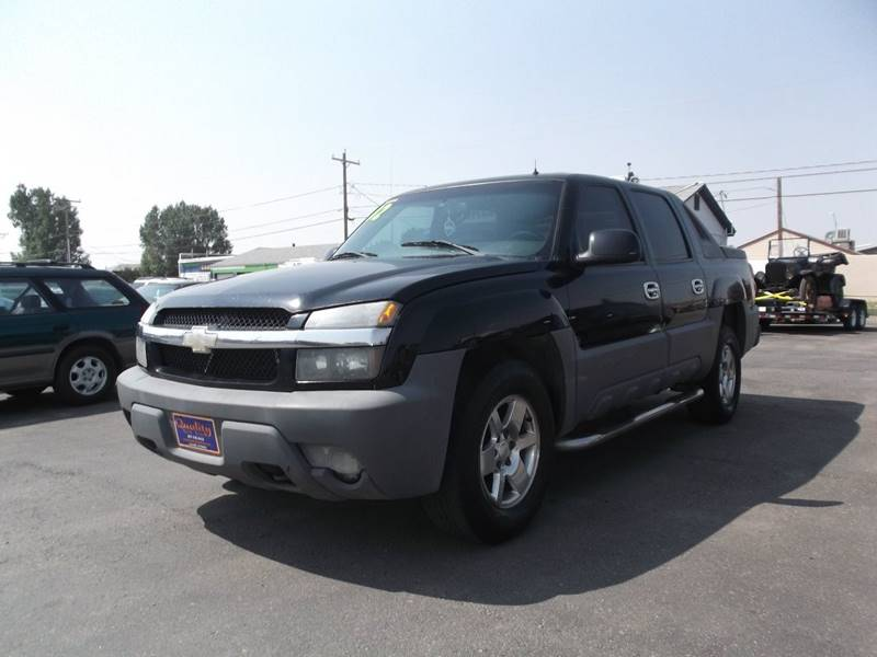 2002 Chevrolet Avalanche for sale at Quality Auto City Inc. in Laramie WY