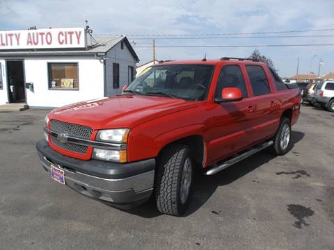 2005 Chevrolet Avalanche for sale at Quality Auto City Inc. in Laramie WY