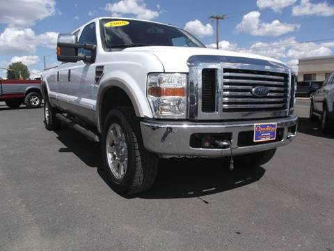 2008 Ford F-350 Super Duty for sale at Quality Auto City Inc. in Laramie WY