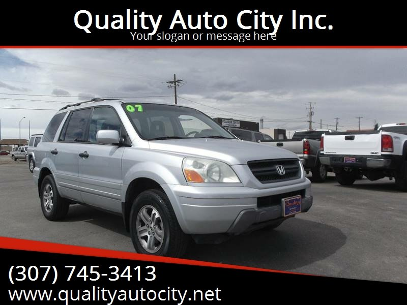 2003 Honda Pilot For Sale At Quality Auto City Inc. In Laramie WY