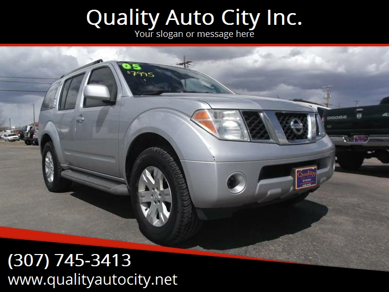 2005 Nissan Pathfinder For Sale At Quality Auto City Inc. In Laramie WY