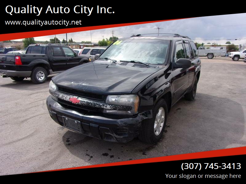 2006 Chevrolet TrailBlazer For Sale At Quality Auto City Inc. In Laramie WY