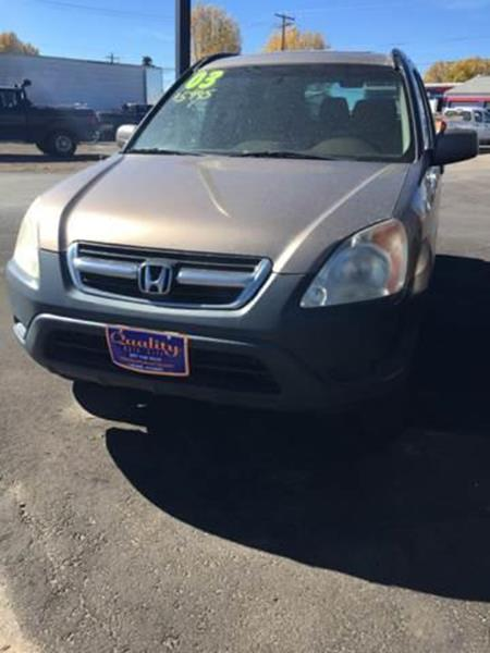 2003 Honda CR V For Sale At Quality Auto City Inc. In Laramie WY